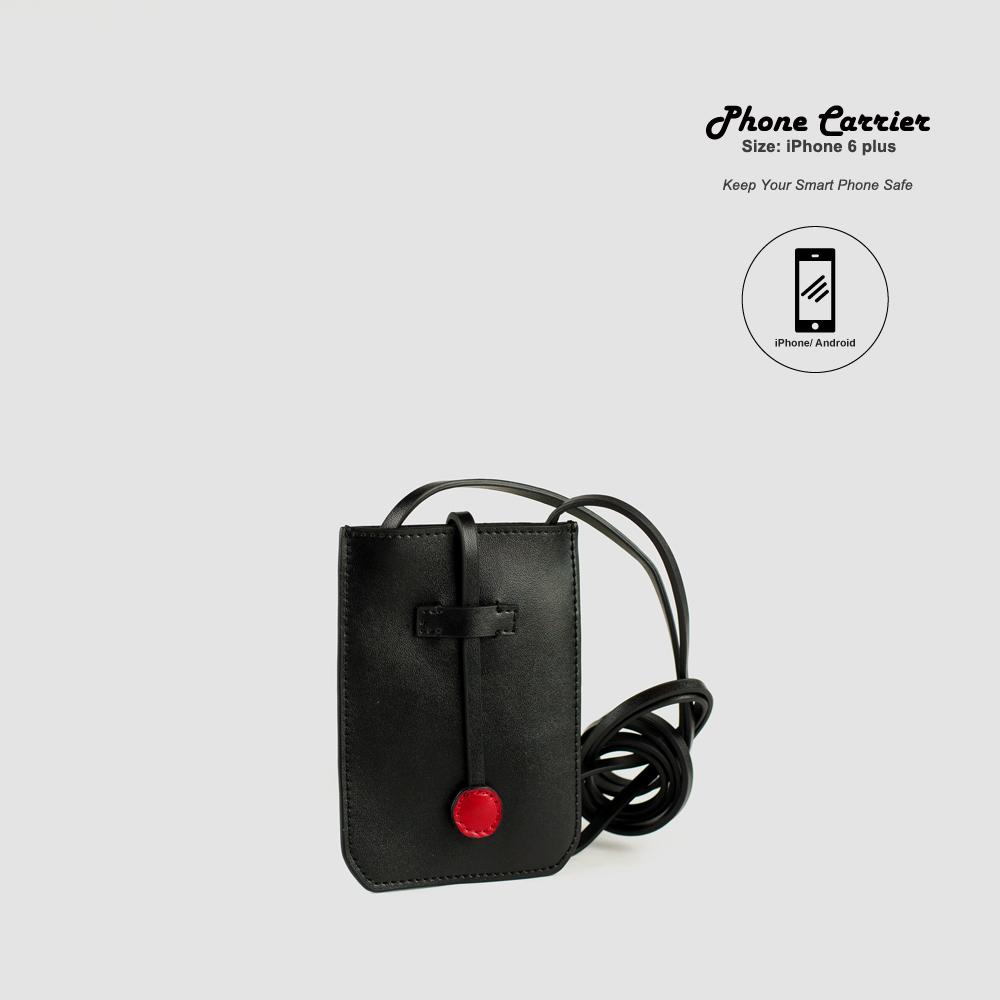 c248746336c7 CAMBRIDGE Leather Crossbody Phone Bag - Charlie Baker London