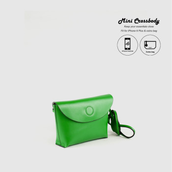 Paris_21  Mini Crossbody Bag_Green