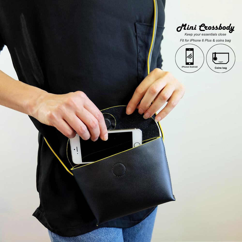 d01524de6a1f PARIS Mini Leather Crossbody Bag - Charlie Baker London